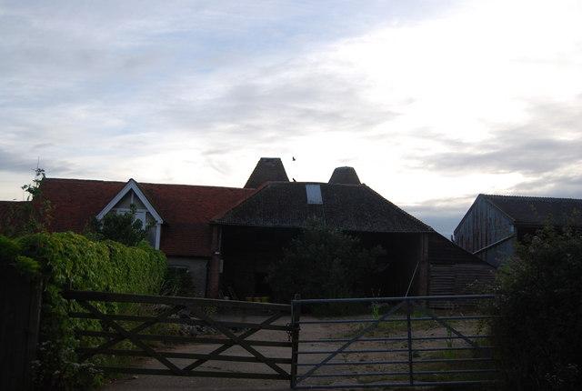Bushes Farm Oast house