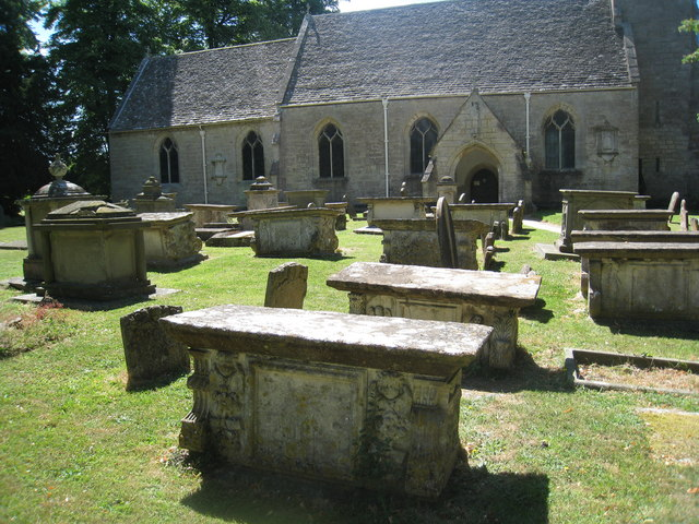 Table tombs in Standish churchyard