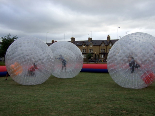 Zorbing in South Park