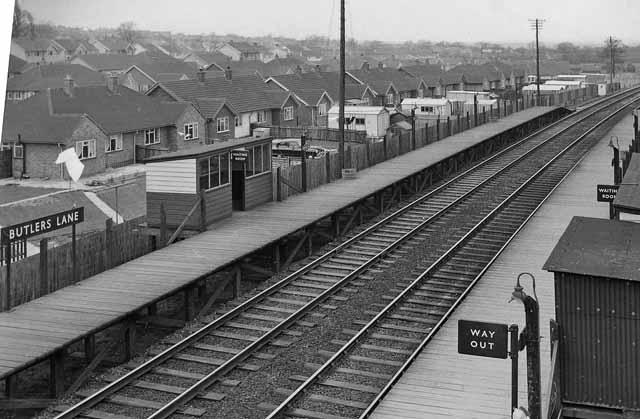 Butler's Lane Station