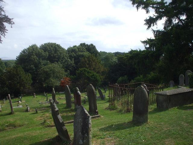 Churchyard, St Mellons, Cardiff