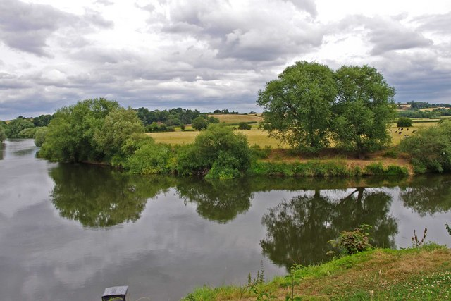 View across the River Severn