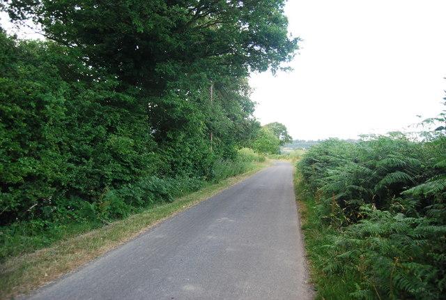 Lane northward