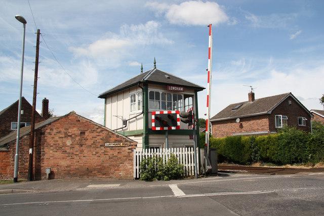 Lowdham Signal Box