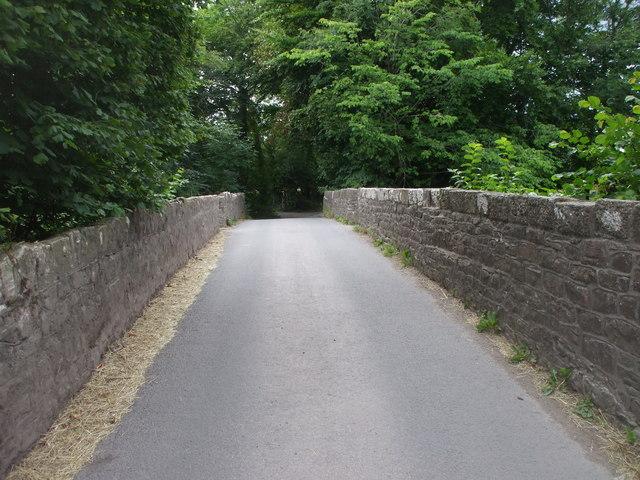 Cefn-llwyd Bridge over the Rhymney River