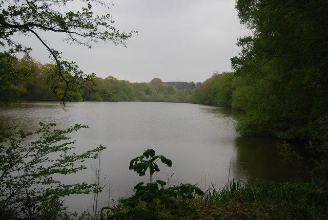 A large fishing lake