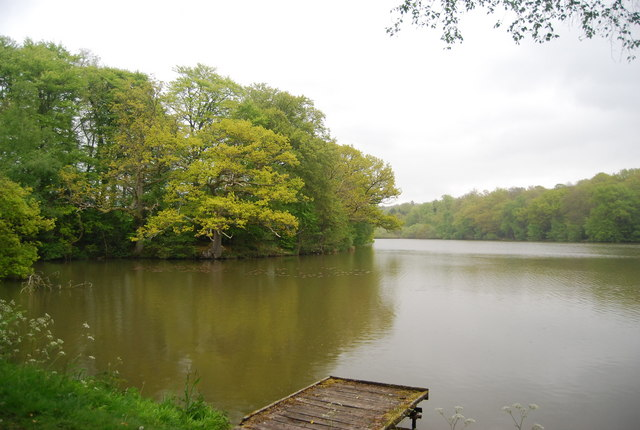 Fishing Lake north of Horsted