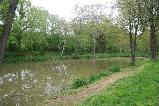 Fishing Lake by the Sussex Border Path