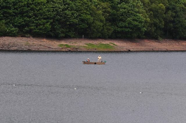 Exmoor : Fishing at Wimbleball Lake