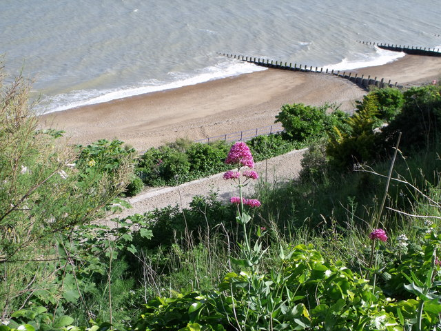 Eastbourne Beach from King Edwards Drive