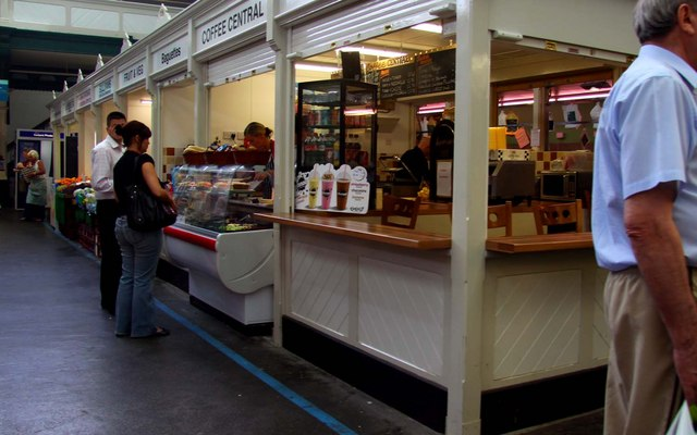 Sandwiches in the St David's Indoor Market