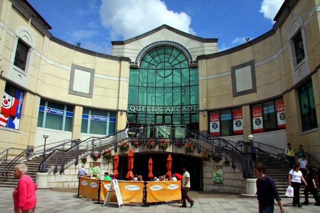Queens Arcade in Cardiff
