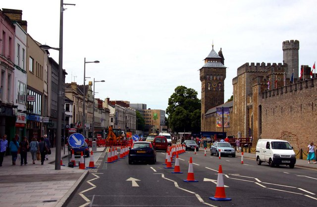 Duke Street in Cardiff