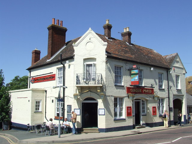 Cinque Ports pub, Rye