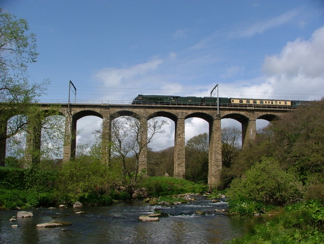 The Aln Viaduct at Lesbury