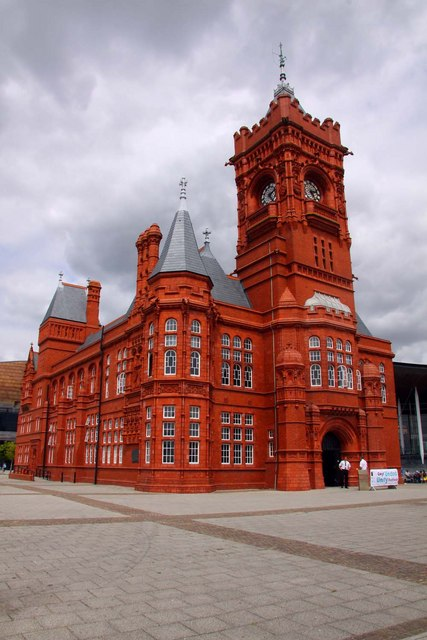 The Pierhead in Cardiff Bay