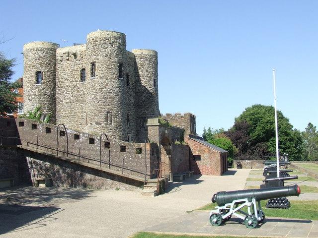 Rye Castle and Gun Garden