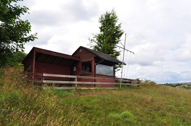 Exmoor : Wimbleball - Wooden Hut