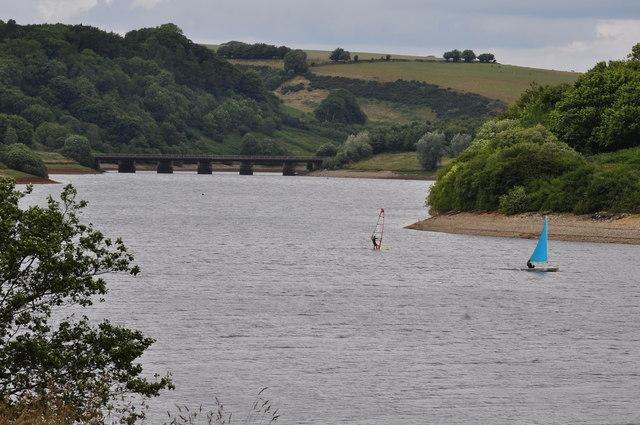 Exmoor : Wimbleball Lake - Watersports & Bessom Bridge