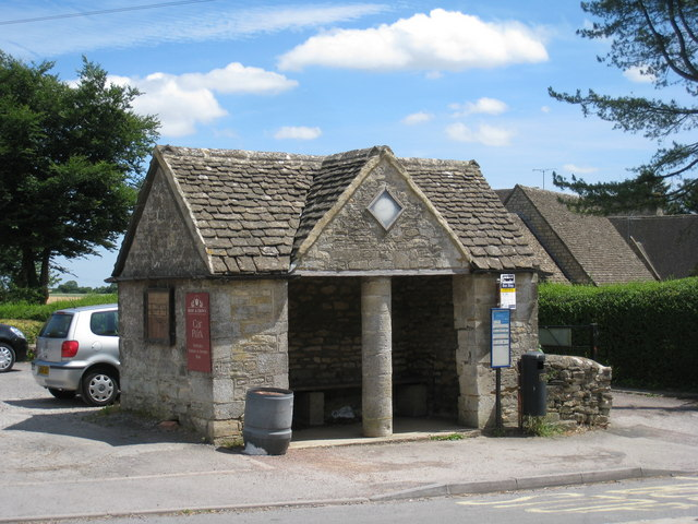 Bus shelter, Nympsfield