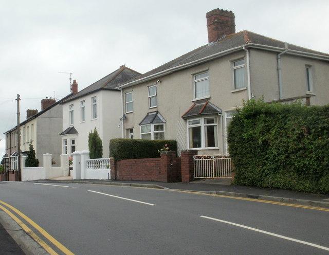 Pillmawr Road houses, Newport