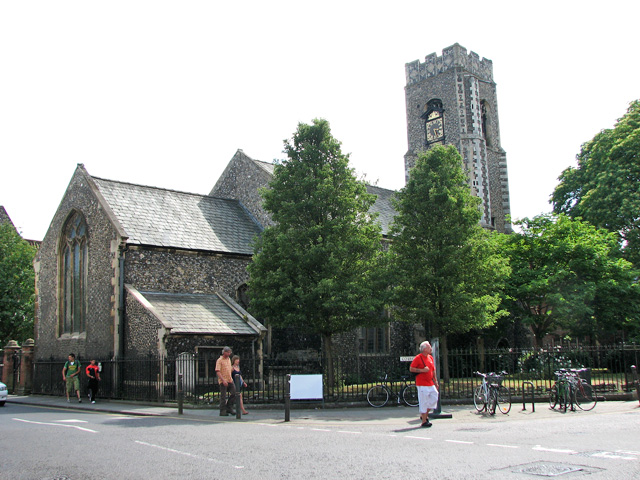 St Clement's church in Fye Street, Norwich