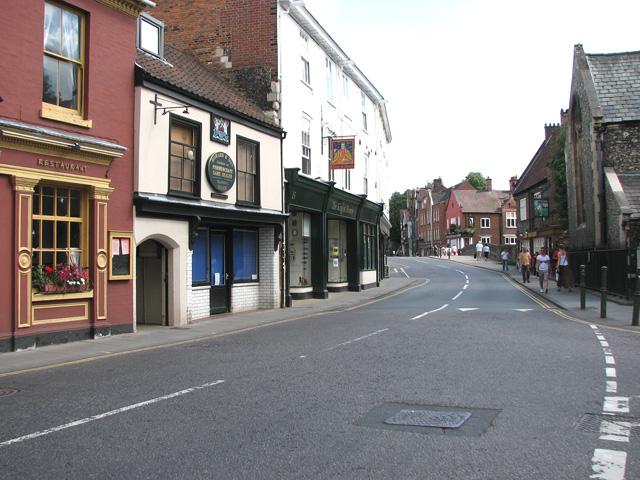 Shops in Fye Street, Norwich