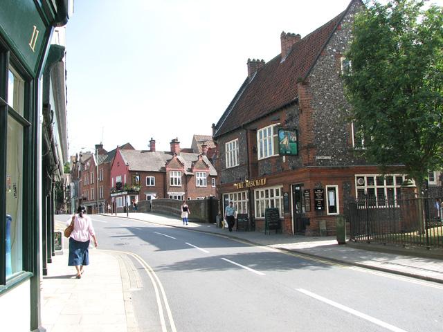 The Mischief public house, Fye Street, Norwich
