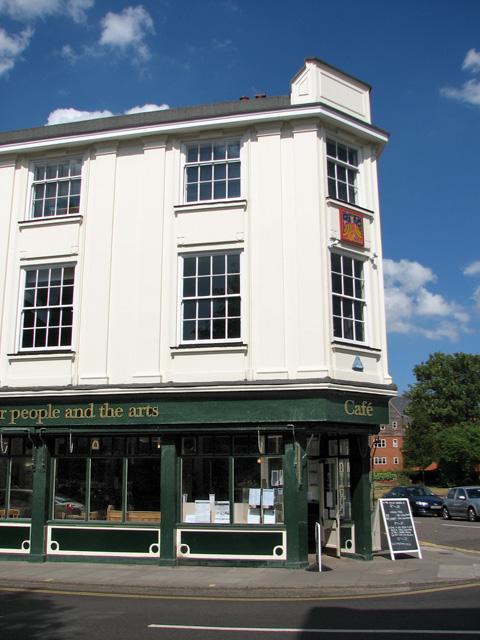 Art Gallery and Café in Fye Street, Norwich