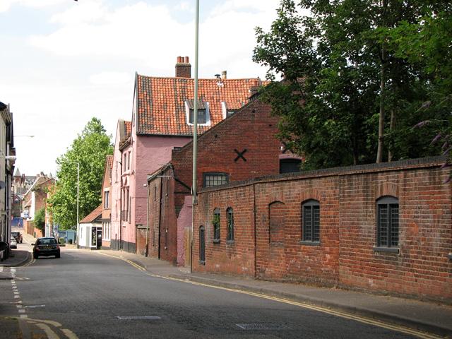 View along Ferry Road, Norwich