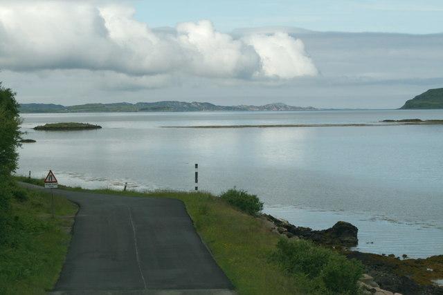 A849 by Loch Scridain