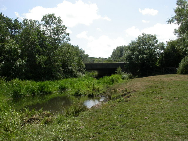 Swaythling, motorway bridge