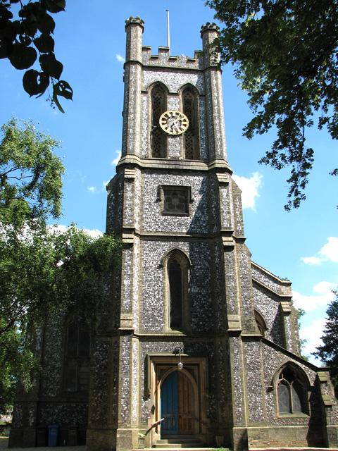 St Mark's church in Lakenham