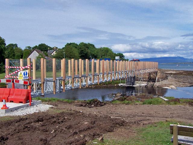 New footbridge for Broadford