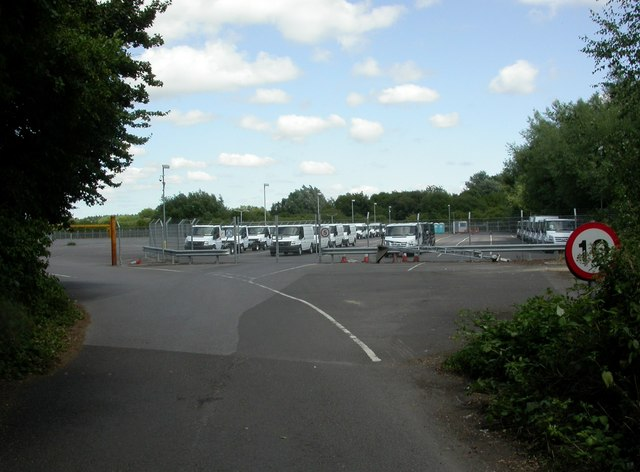 Swaythling, vehicle storage