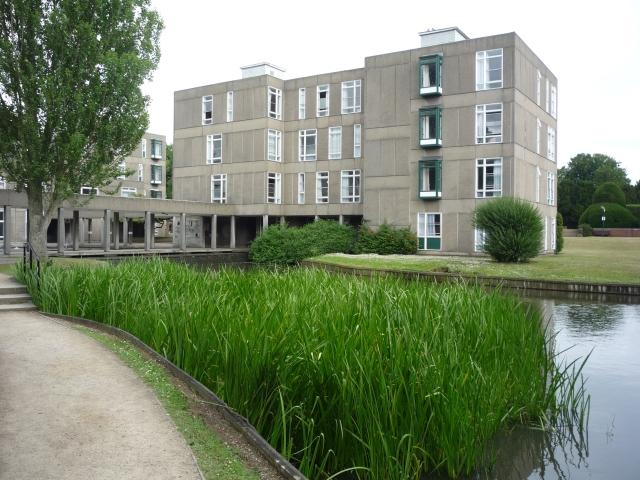 Derwent B Block across the lake