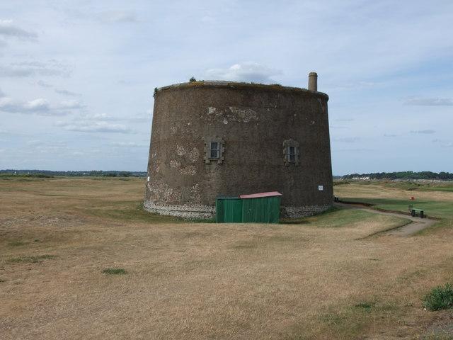 Martello Tower at Felixstowe Ferry