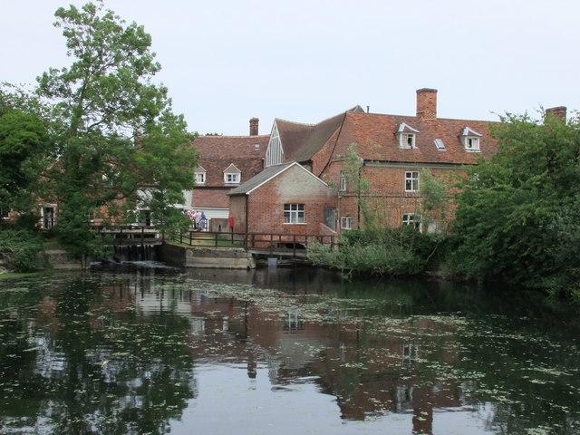 National Trust Visitors centre at Flatford