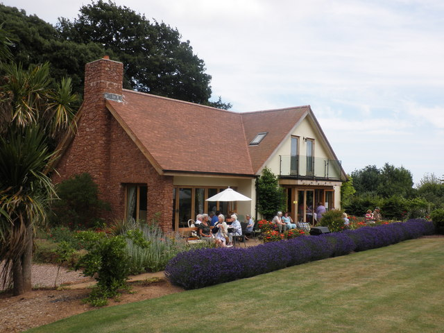 Visitors stop for tea, at High Gardens