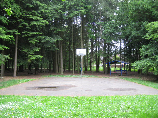 Bracknell: Forest Park basketball court