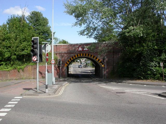 Swaythling, railway bridge