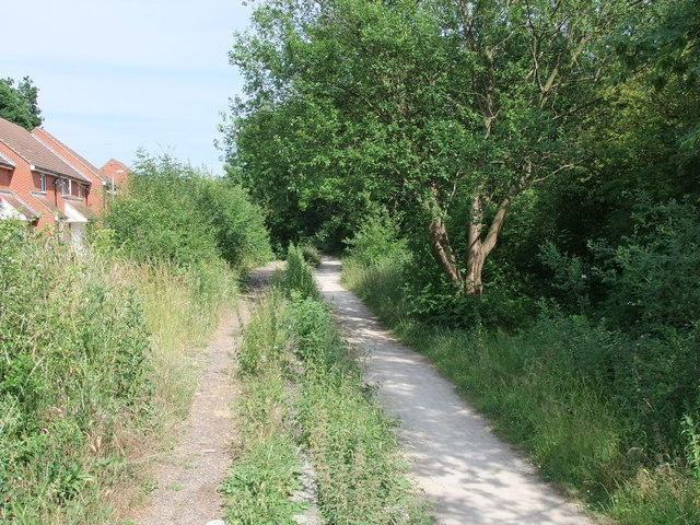 Flitch Way Country Park at Takeley Station