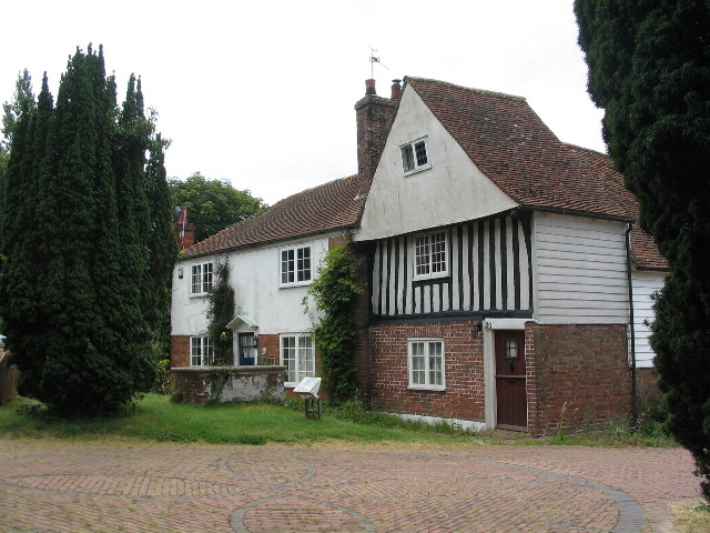 Buildings by Rolvenden church