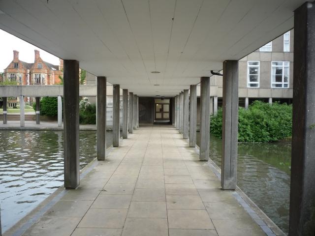 Walkway to B Block
