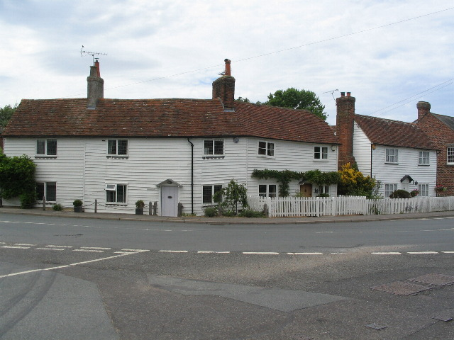 Weatherboarded houses, Rolvenden