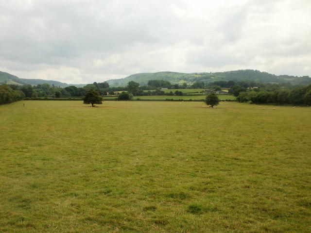 Fields, Offa's Dyke Path, Hay-on-Wye