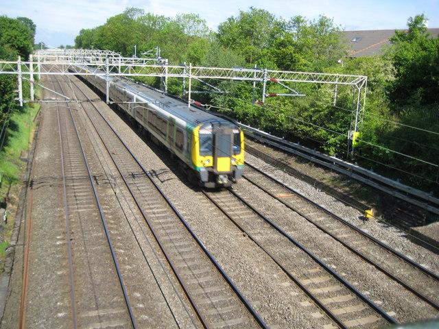 West Coast Main Line in Hemel Hempstead