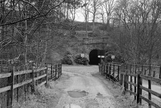 Site of Butterton Halt, Leek & Manifold Valley Light Railway