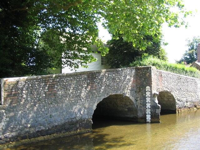 Bridge at Eynsford ford