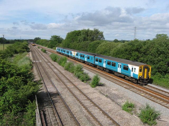 South Wales Main Line at Marshfield